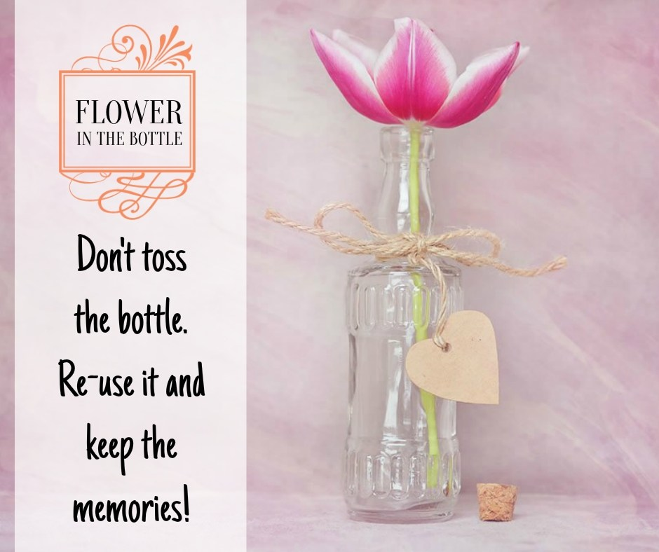 Do Not Toss The Wine Bottle - Re-use it and keep the memories Tumblr Wine Quote Images