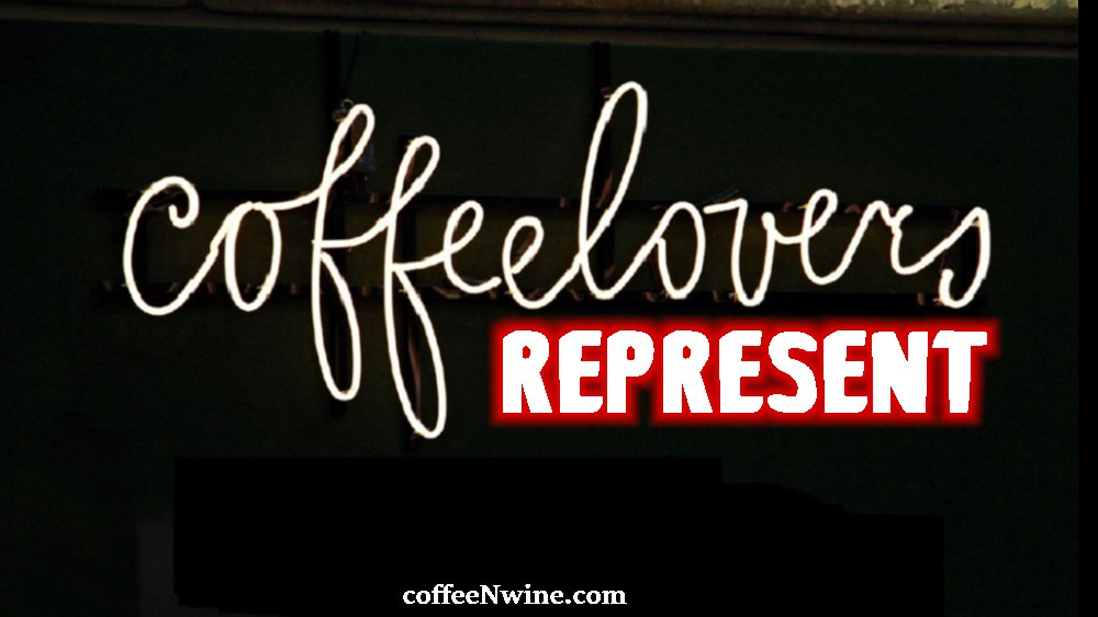 Coffee Lovers Represent Post Coffee Facebook