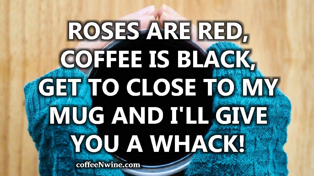 Do Not Get Too Close To My Mug