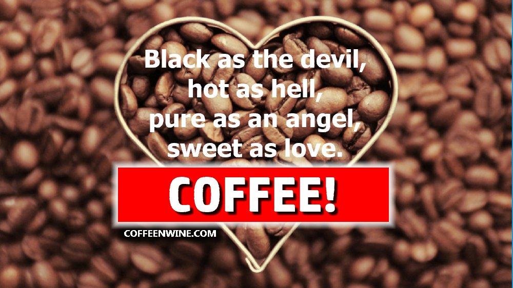 Sweet As Love Coffee Poem