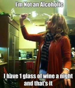 Doctor Said One Glass Of Wine.