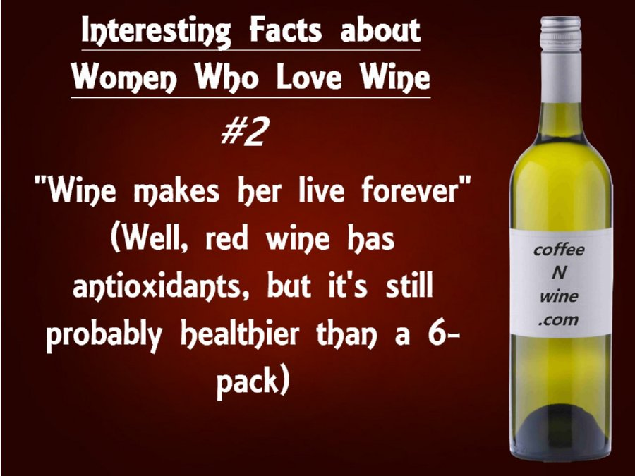 Interesting facts about women who love wine 2