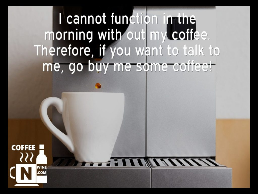 I cannot function without my coffee - Quotes About Coffee