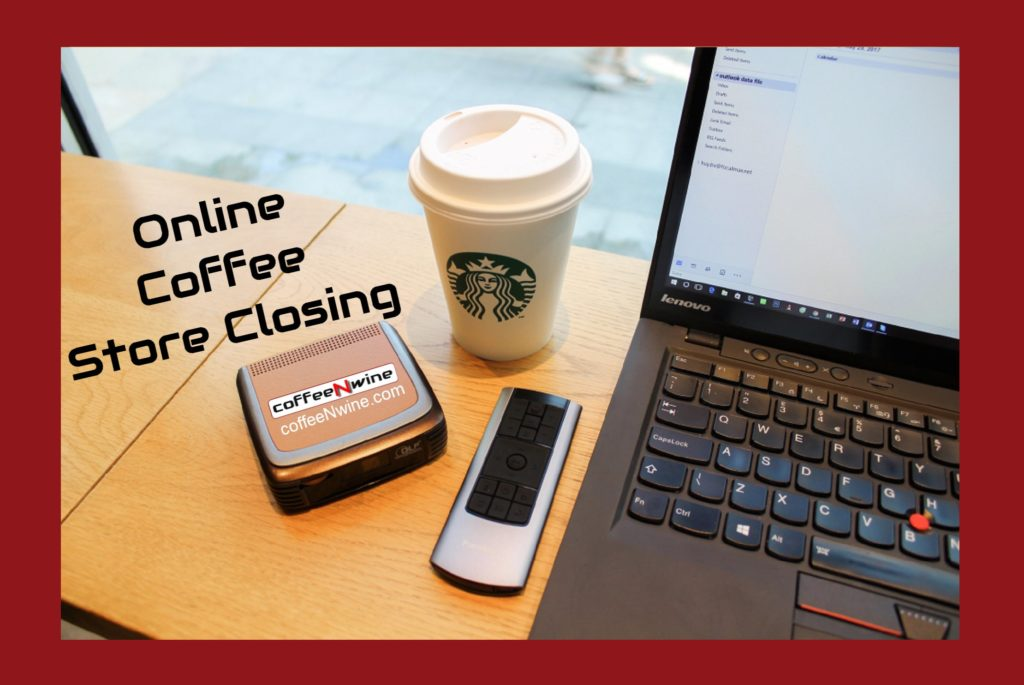 Giant Online Coffee Store Closing