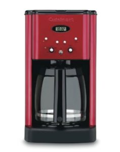 Red Coffee Maker