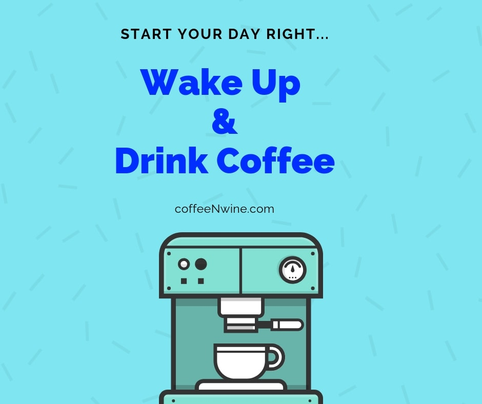Wake Up and Drink Coffee Facebook Twitter facebook coffee images Pinterest